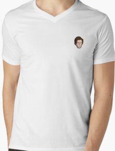 Napoleon Dynamite Mini Head Mens V-Neck T-Shirt