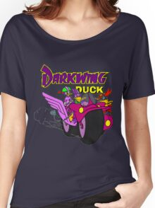 Darkwing Duck Motorcycle Women's Relaxed Fit T-Shirt