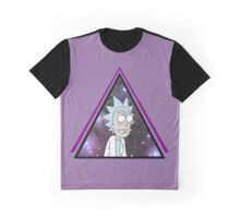 Trippy Rick and Morty Graphic T-Shirt