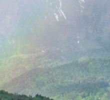 Mountain Rainbow Sticker