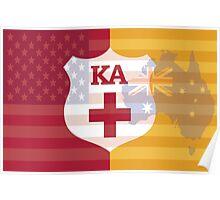 Australian American Kappa Alpha Order Poster