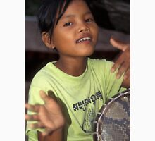 Angkor Wat drummer girl T-Shirt