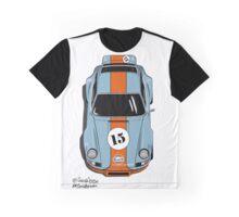 Porsche 911 Gulf Graphic T-Shirt