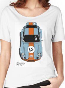 Porsche 911 Gulf Women's Relaxed Fit T-Shirt