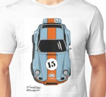 Porsche 911 Gulf Unisex T-Shirt