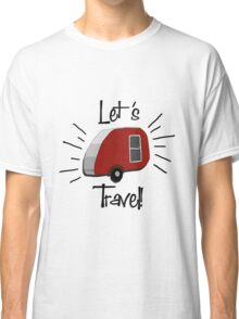 Retro Teardrop Camper  Classic T-Shirt