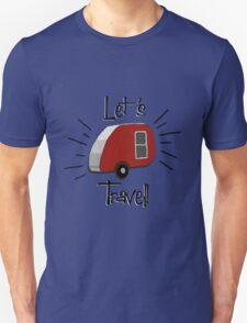 Retro Teardrop Camper  T-Shirt