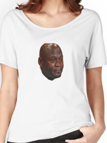 Jordan Crying Women's Relaxed Fit T-Shirt