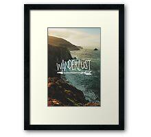 Wanderlust Big Sur Framed Print
