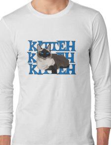 Siamese Kitty Kitteh Long Sleeve T-Shirt