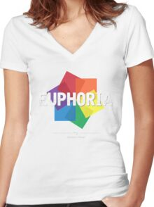 Loreen - Euphoria [Eurovision Winners] Women's Fitted V-Neck T-Shirt
