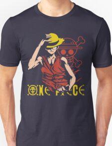 One Piece Monkey D. Luffy, Vector Anime Unisex T-Shirt