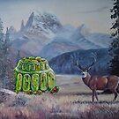 Boreal Jello Mold with Buck by David Irvine