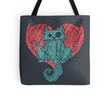 Valentine's Cat Tote Bag