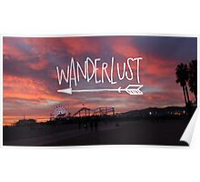 Wanderlust Sunset II Poster