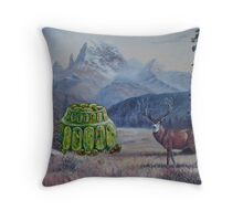 Boreal Jello Mold with Buck Throw Pillow