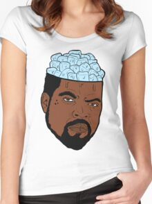 ICE CUBE(S) Women's Fitted Scoop T-Shirt