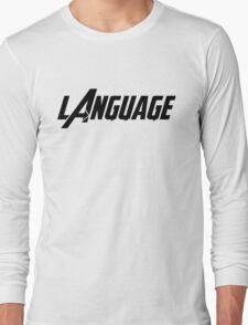 Captain America - Language Long Sleeve T-Shirt