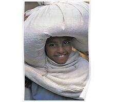A sack full of smiles, Ethiopia Poster