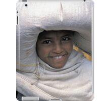 A sack full of smiles, Ethiopia iPad Case/Skin