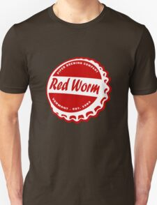 Red Worm Brewing Company funny nerd geek geeky T-Shirt