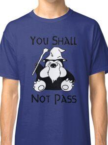 Pokemon Snorlax Quote Classic T-Shirt