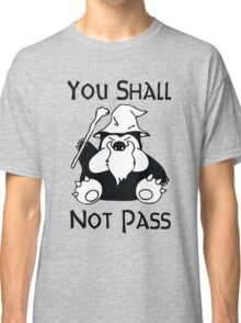Pokemon Snorlax Quote Classic T-Shirt
