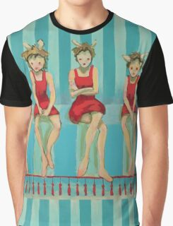 5 Little Red Riding Hoods 3/3 Graphic T-Shirt