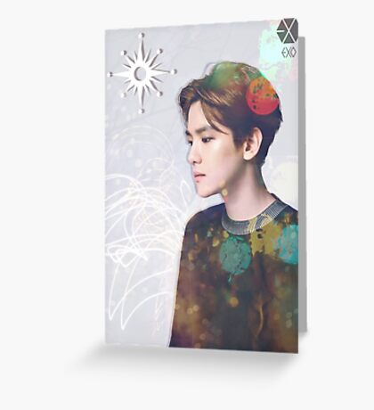 EXO - Baekhyun Light Greeting Card
