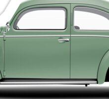 1951 Volkswagen Beetle - Pastel Green Sticker