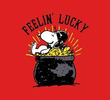 Snoopy Feelin Lucky Unisex T-Shirt