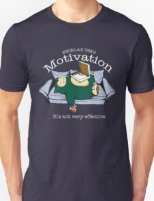 Pokemon Snorlax Motivation Quote T-Shirt
