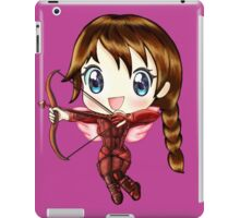 Cupid Katniss- Hunger Games inspired (Love Themed Day Hand-Drawn Illustration) iPad Case/Skin