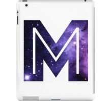 The Letter M - Space iPad Case/Skin