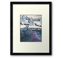 Winters Journey - Earthbound Framed Print