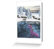 Winters Journey - Earthbound Greeting Card