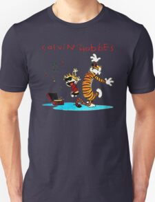 Calvin And Hobbes Dancing T-Shirt