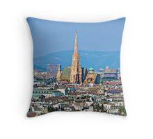 Austria - City of Vienna Throw Pillow