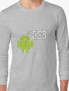 Android Paranoia Long Sleeve T-Shirt
