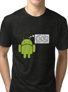 Android Paranoia Tri-blend T-Shirt