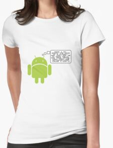 Android Paranoia Womens Fitted T-Shirt
