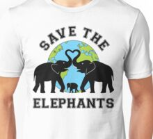 Save the elephant Unisex T-Shirt