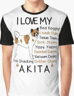 i love akita Graphic T-Shirt