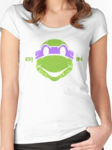 Legendary Turtles - Donnie Women's Fitted Scoop T-Shirt