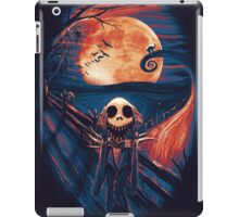 The Scream After Christmas iPad Case/Skin