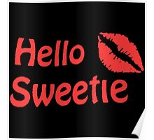 River Song Hello Sweetie Poster