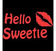 River Song Hello Sweetie Photographic Print