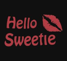River Song Hello Sweetie Baby Tee