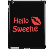 River Song Hello Sweetie iPad Case/Skin