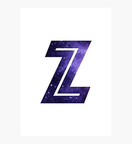 The Letter Z - Space Photographic Print